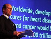 """When Fortune magazine called Mike """"The Man Who Changed Medicine,"""" they affirmed the effectiveness of his efforts, over four decades, to accelerate medical progress against a wide range of life-threatening diseases and to improve public health around the world."""