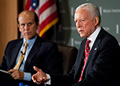 Senator Orrin Hatch discusses medical research and the Milken Institute