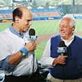 Tommy Lasorda, legendary Major League Baseball manager