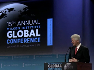 Click to view President Clinton at the Milken Institute