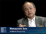 Click to view SoftBank's Masayoshi San
