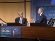 Click to view Tony Blair on the challenges of leadership
